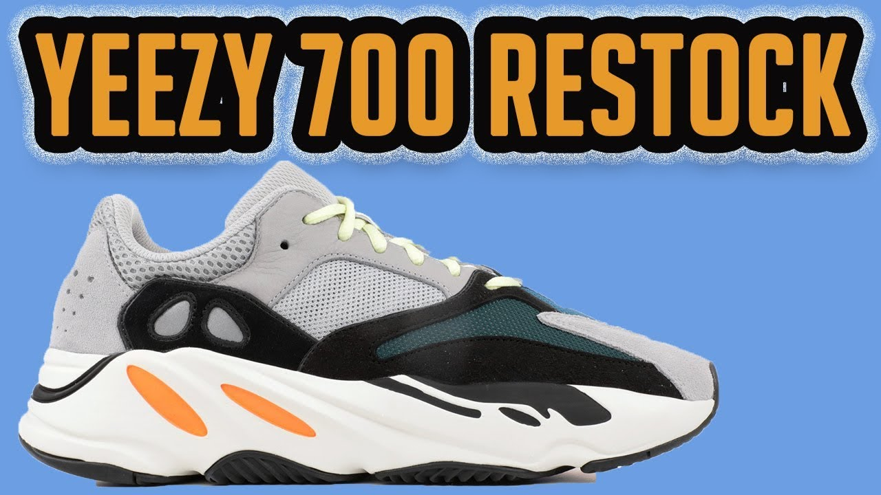949736f3d Adidas Yeezy 700 Wave Runner Grey RESTOCK SEPTEMBER 15TH! - YouTube