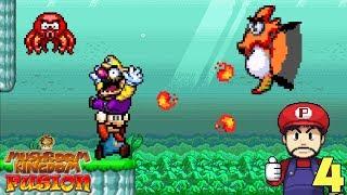 Mario Rescata a Wario!! - Jugando Mushroom Kingdom Fusion con Pepe el Mago (#4)