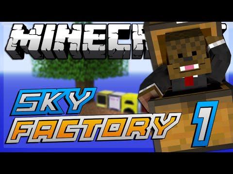 Minecraft Modded Sky Factory \