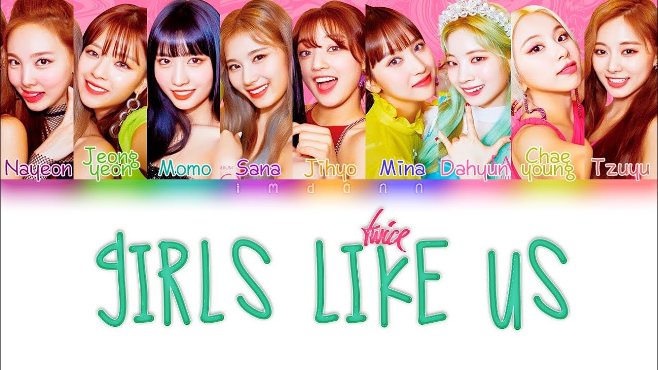TWICE - GIRLS LIKE US |Sub. Español + Color Coded| (HAN/ROM/ESP) - YouTube