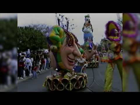 Party Gras Parade at Disneyland (1990)