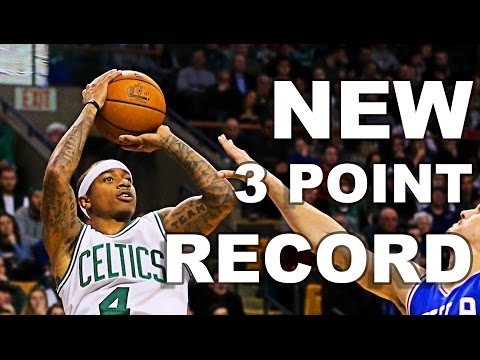 New Celtics Franchise Record With 19 Three Pointers In A Game!