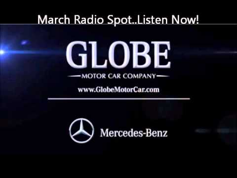 Globe Motor Cars March Radio Spot Special Offers