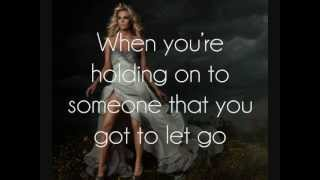 Download Carrie Underwood - Good in Goodbye [Lyrics On Screen] MP3 song and Music Video