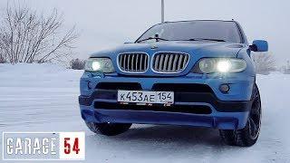 ЯПОНСКИЙ V12 (5 литров) В BMW X5 - ПЕРВЫЙ ВЫЕЗД