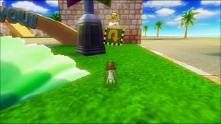 [MKWii TAF] Coconut Mall Freerun (w/ Infinite Shrooms)