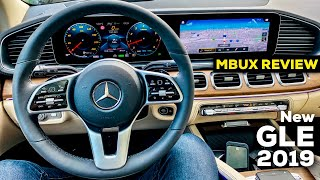 2019 MERCEDES GLE 450 FULL IN-DEPTH REVIEW INTERIOR MBUX Ambient Lights BETTER THAN AUDI Q7?!