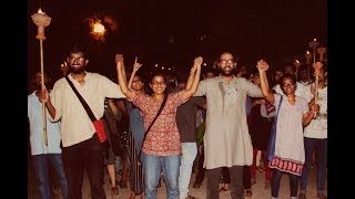 Massive March by the United Left in JNU | JNUSU Elections 2018-19