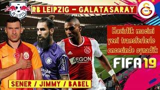 Rb Leipzig - Galatasaray / Yeni Transferlerle Hazirlik Maci