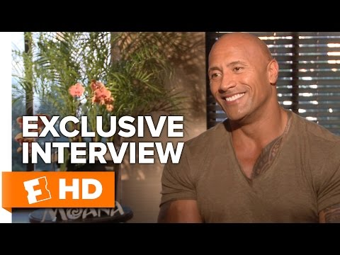 Dwayne Johnson and Auli'i Cravalho Exclusive 'Moana' Interview (2016)