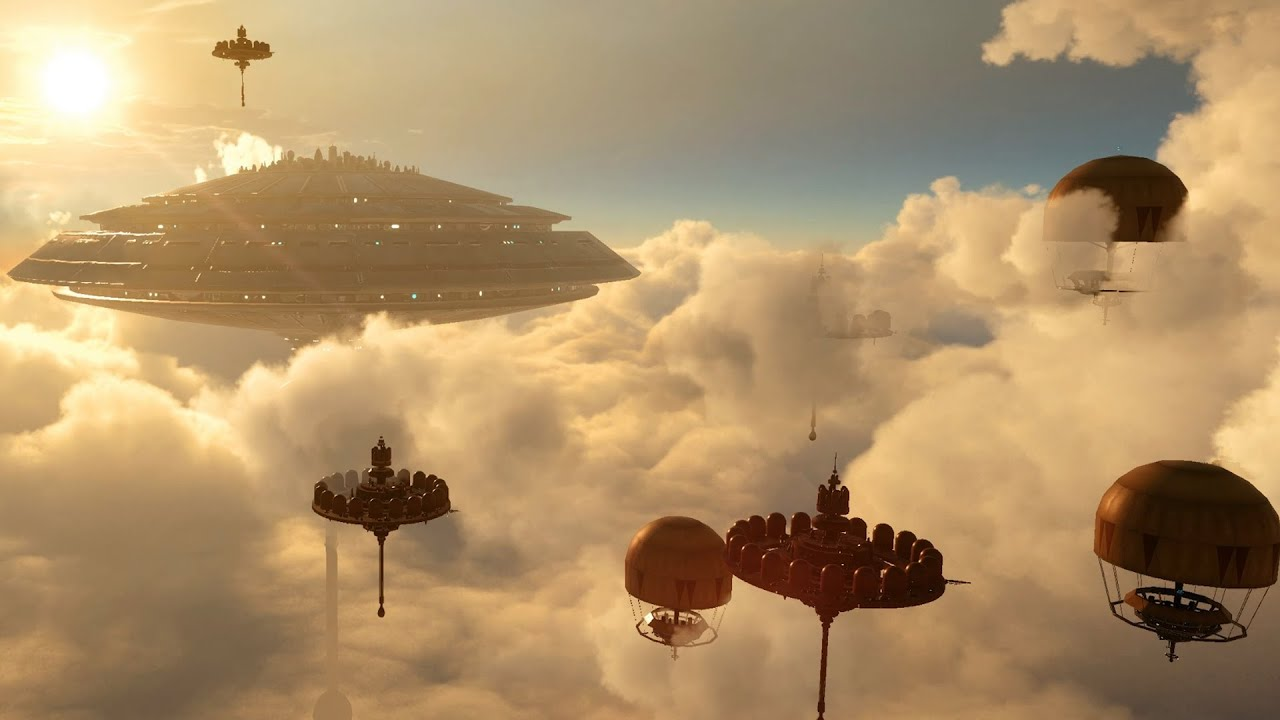 Star Wars Battlefront Wallpaper Hd Star Wars Battlefront Fighter Squadron Bespin Airspace