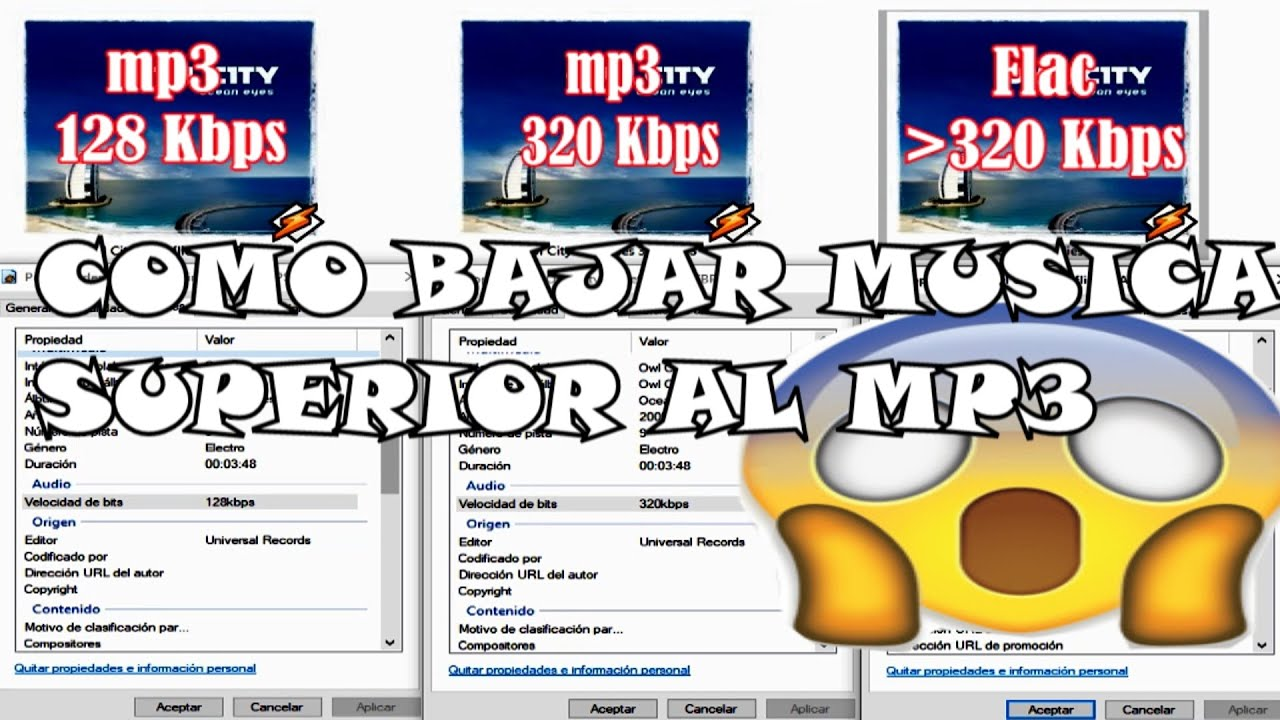 Como Descargar Musica De Alta Calidad Superior Al Mp3 Completo Youtube