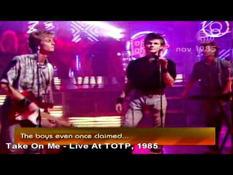 A-ha - Take On Me - Live At TOTP, 1985 [HD]