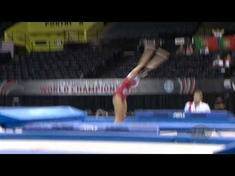 KUNDIUS Irina (RUS) - 2014 Trampoline Worlds, Daytona Beach (USA)  - Qualifications Women