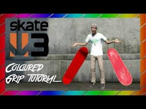 How to get coloured Grip Tape on Skate 3