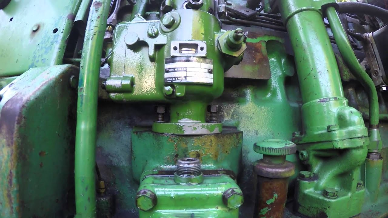 john deere 4020 injector replacement