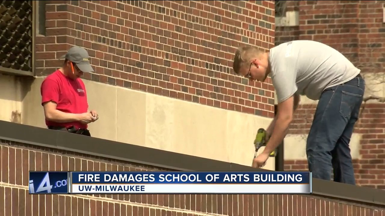 Fire causes $1M in damage to UW-Milwaukee Peck School of the Arts