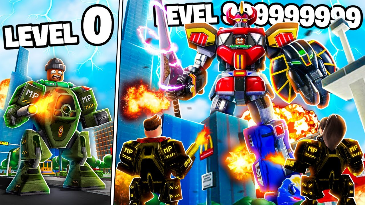 I TRANSFORMED into a LEVEL 999,999,999 Roblox Toy...