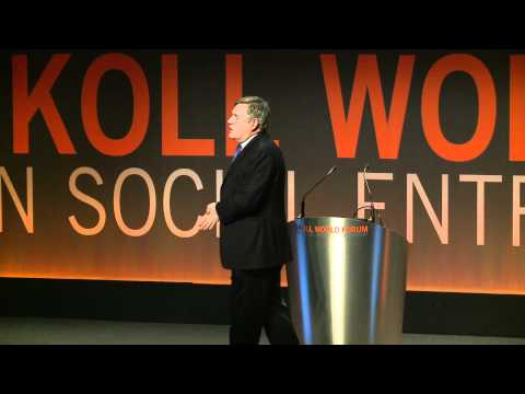 Gordon Brown at the Morning Plenary of the Skoll World Forum