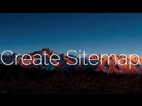 how to add sitemap page to your blog blogger wordpress youtube
