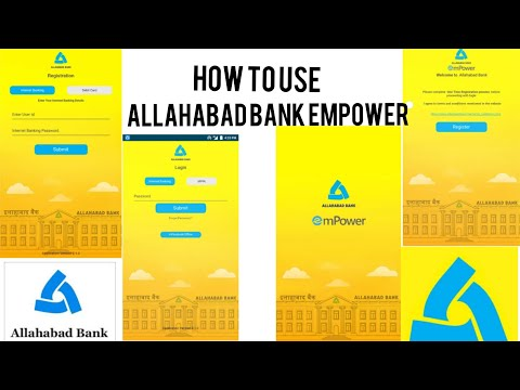 Allahabad Bank mPower  | how to use and add accounts | TN SOLUTION |