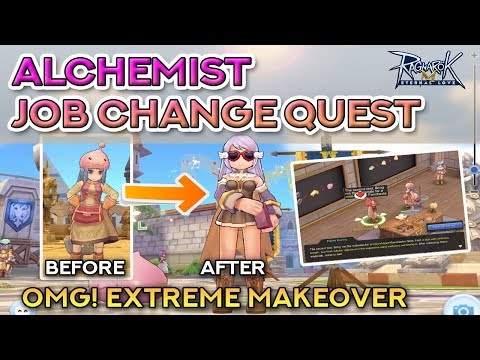 ALCHEMIST JOB CHANGE QUEST | Ragnarok Mobile Eternal Love
