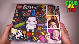 New 2018 LEGO Unboxing set 41597 Go Brick Me - BrickHeadz - 708 pieces