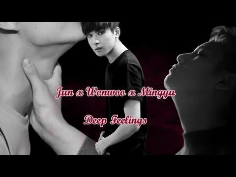[Seventeen FMV/( ͡° ͜ʖ ͡°)/ Seventeen ship] Jun x Wonwoo x Mingyu - Deep  Feelings | memebattle