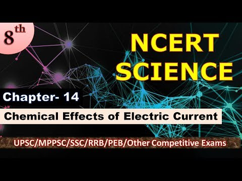 P/17 NCERT SCIENCE CLASS 8 CHAPTER-14  CHEMICAL EFFECTS OF ELECTRIC CURRENT thumbnail
