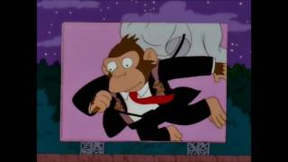 Primates Simpson 09x16 Hail to the Chimp!