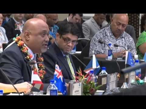 Leaders' response by the Deputy Chief of Mission - Republic of the Marshall Islands