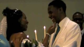 """When I Said I Do""  by Chanté Moore & Kenny Lattimore :  Anthony and Fernelle Davis"