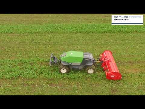 Greenbot autonomous robot for farming