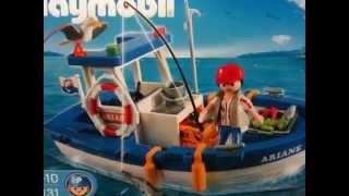 PLAYMOBIL Bateau de pêche
