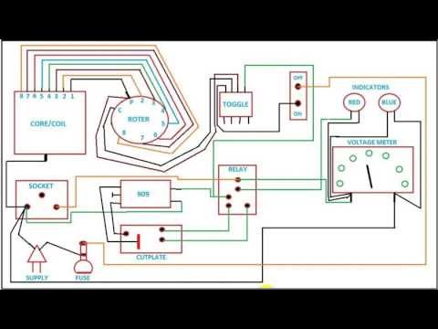 Step Up Transformer Circuit Diagram Youtube