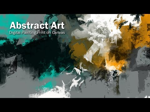 Abstract Art | Painting Tutorial | Abstract Designer | digital canvas | Abstract Digital Coloring