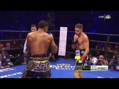 Errol Spence Jr vs Chris Algieri Full Fight Boxing HD New  2016