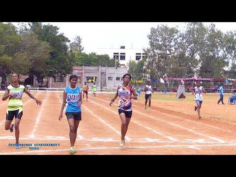 GIRL'S U18  400m  HURDLES TIME TRIAL-1. 31st TAMILNADU    Jr.  ATHLETICS  CHAMPIONSHIPS-2017.