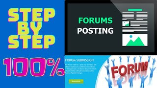 Forum Posting Bangla Tutorial 2020 || Off Page SEO || By BPO Mentor