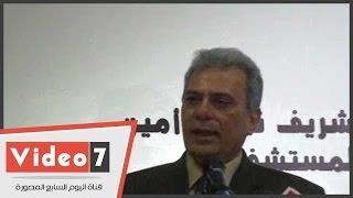 جابر نصار باكيا:  سعيد بعملى فى القصر العينى..وهنحافظ على صحة المصريين