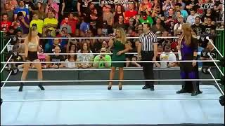 Rondy Rousey vs nia jax Raw mach