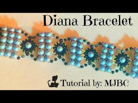 Beaded Bracelet Tutorial/Diana Bracelet Tutorial