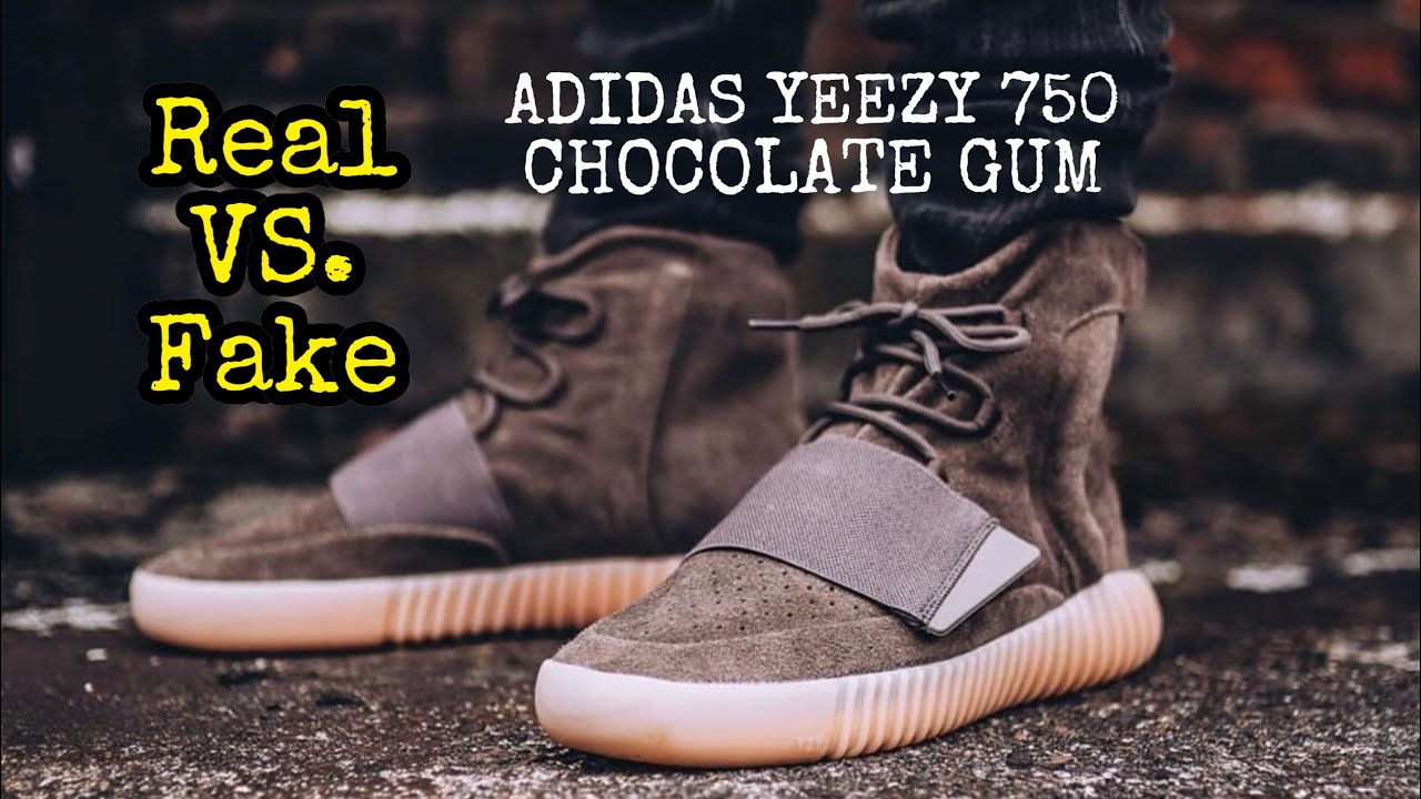 newest c4698 92292 BEST Real vs. Fake // Yeezy 750 Chocolate Gum