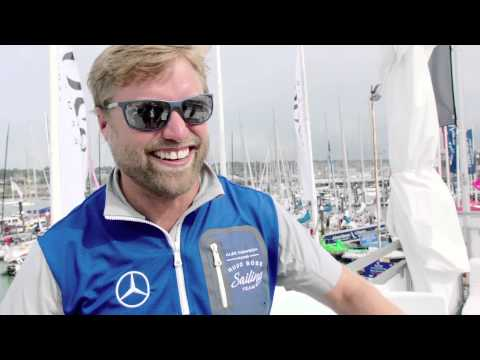 Oliver Cheshire onboard Alex Thomson