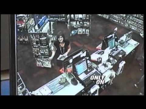 Video Game Store Robbery Caught On Tape