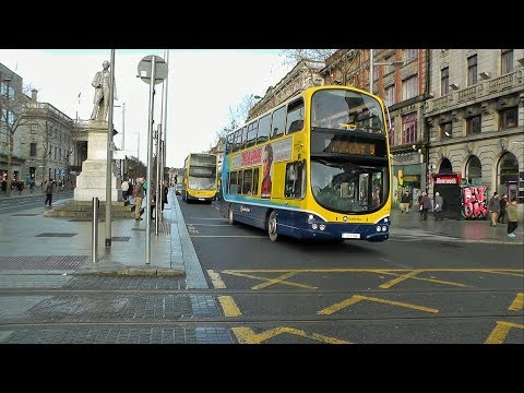 Buses In Dublin City - January 2018