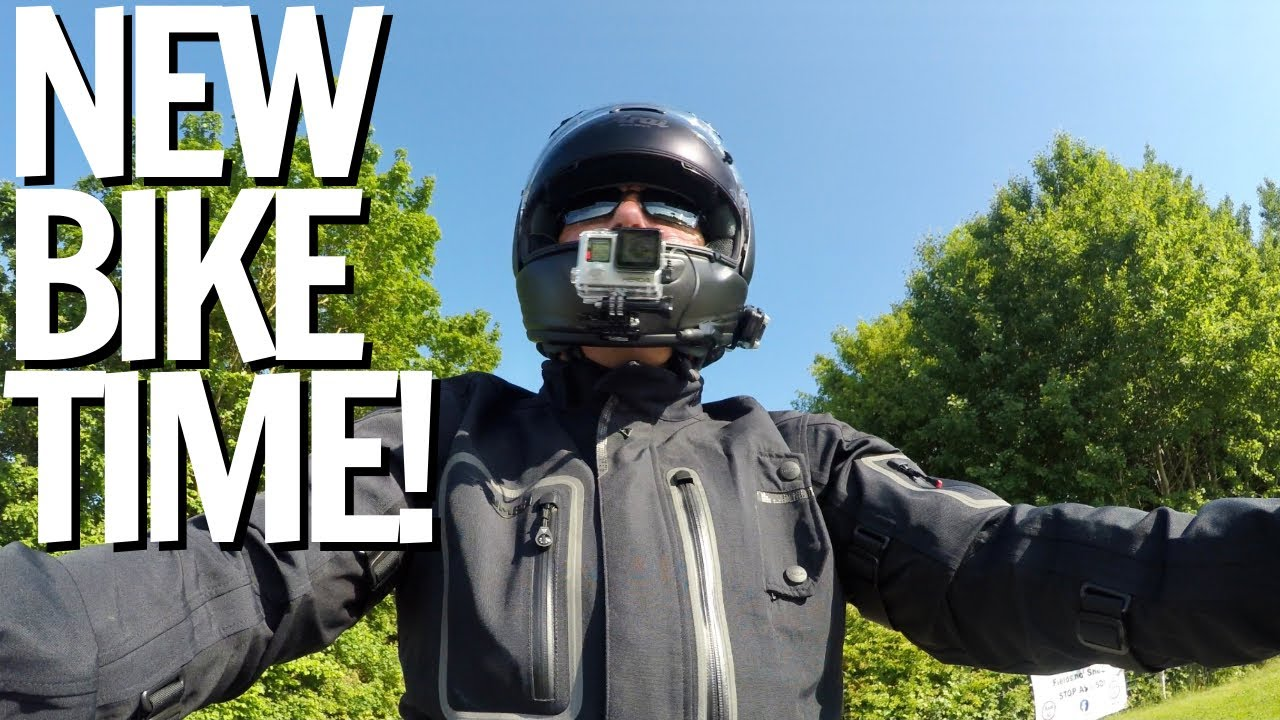 New Triumph Motorbike. Can you guess what we have? Vlog No. 47
