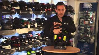 How to replace your SHOEI sun visor