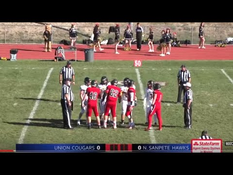 3A Football: Union at North Sanpete High School 2018 UHSAA State Tournament Quarterfinals