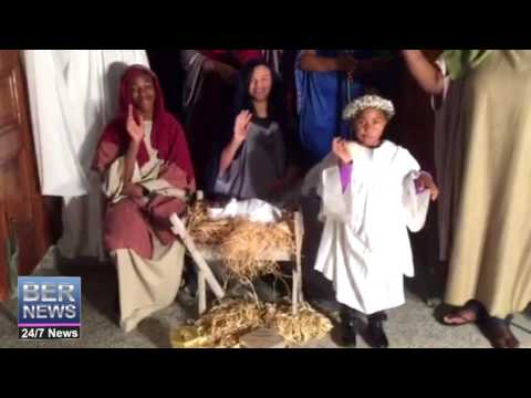 'Live Nativity' at Wesley Methodist Church, December 20 2016